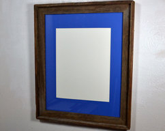 1632541da66 8x10 natural gray wood picture frame with red by barnwood4u on Zibbet