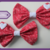 I Heart Floral Bow (Small)