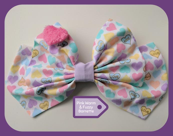 Warm & Fuzzy Bow (Large)
