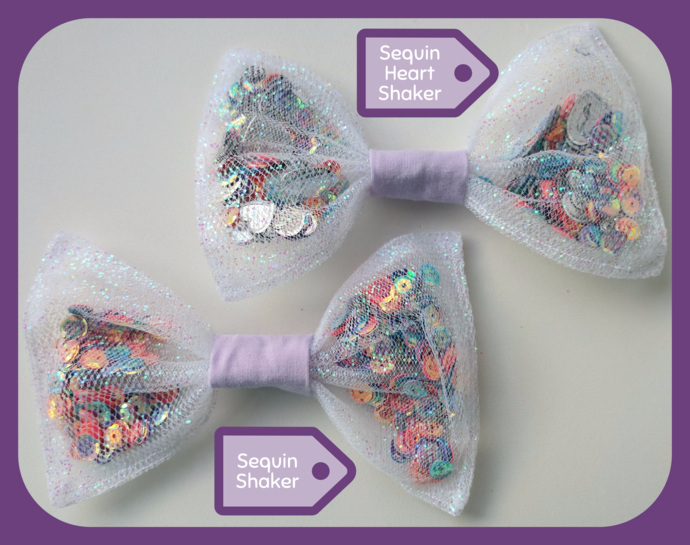 Sequin Shaker Bow
