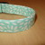 Aqua Blue Flower Petals Adjustable Dog & Cat Collars & Martingales & Leashes