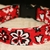 Red Black Hawaiian Floral Adjustable Dog & Cat Collars & Martingales & Leashes