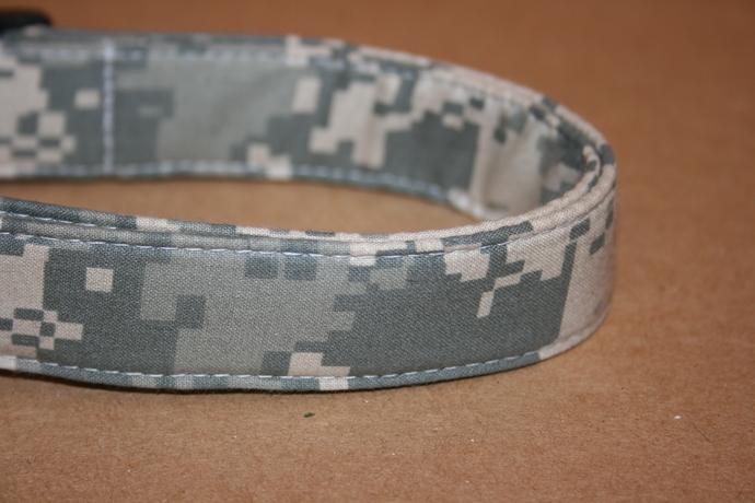 Digital Camo Camouflage Adjustable Dog & Cat Collars & Martingales & Leashes