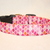 Pink Mermaid Fish Scale Adjustable Dog & Cat Collars & Martingales & Leashes