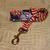 Patriotic American Flag fireworks Adjustable Dog & Cat Collars & Martingales &