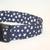 Navy Blue & White Stars USA Flag Adjustable Dog & Cat Collars & Martingales &