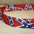 Confederate Rebel Flag Adjustable Dog & Cat Collars & Martingales & Leashes