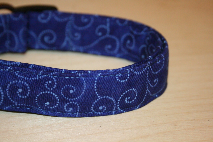 Royal Blue Adjustable Dog & Cat Collars & Martingales & Leashes