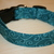 Teal Swirls Adjustable Dog & Cat Collars & Martingales & Leashes