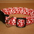 Red & White Hearts Valentines Adjustable Dog & Cat Collars & Martingales &