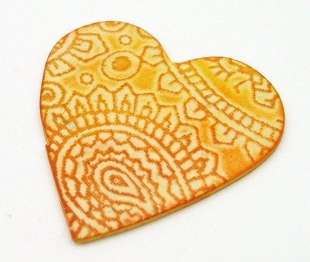 Beadcomber Silk Screen - Paisley Silkscreen for Polymer clay, flat surfaces such