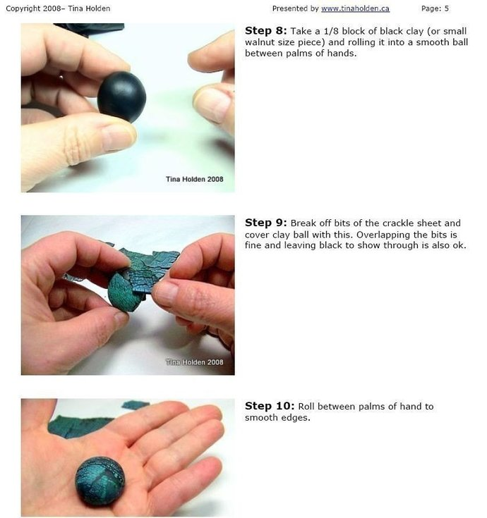 Leaf Toggle Clasp or Pendant - Polymer Clay Tutorial - Digital Emailed PDF File