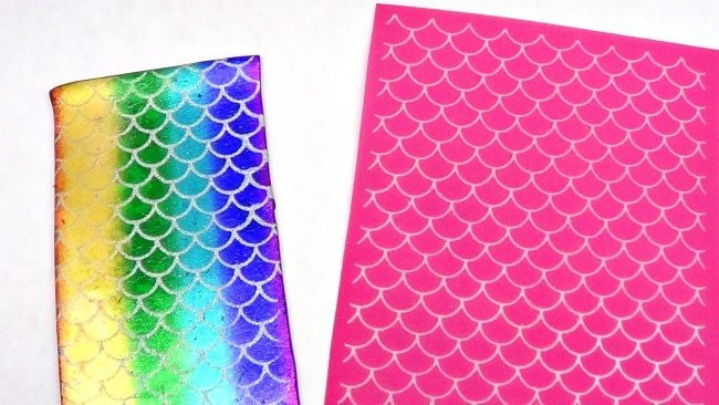 Beadcomber Silk Screen - Mermaid or Fish Scales Silkscreen for Polymer clay,