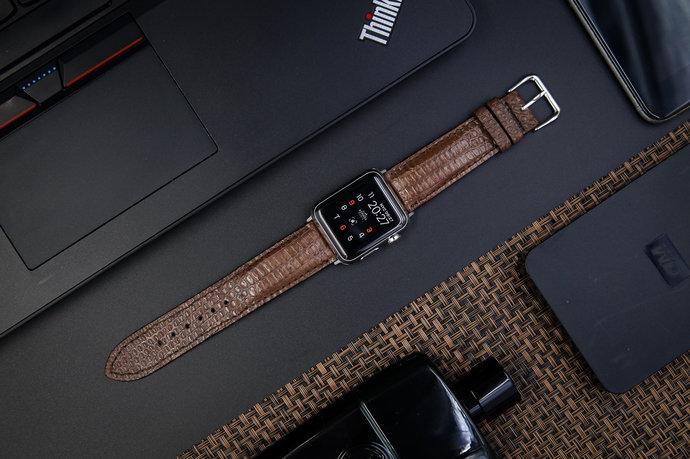 Genuine Lizard Apple Watch Band fits Apple Watch 42mm Apple Watch 38mm Series