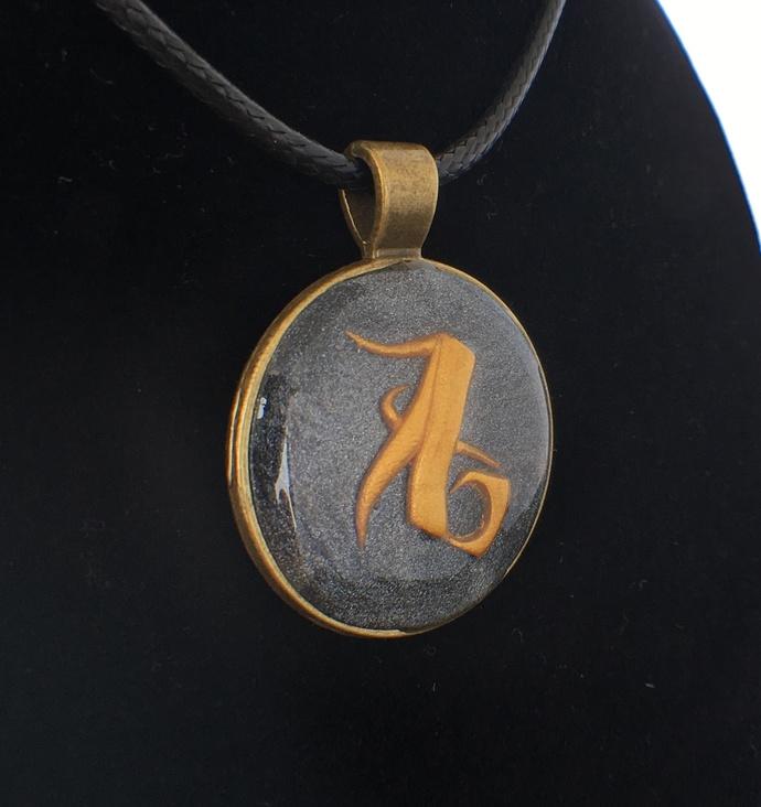 Shadowhunters Love Rune pendant