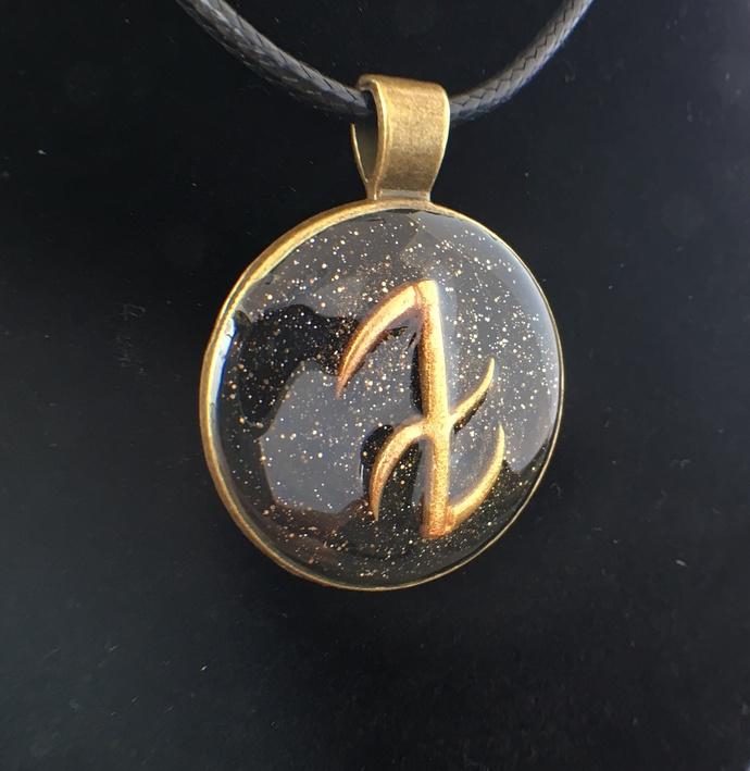 Shadowhunters Deflect Rune pendant
