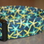Starfish Navy Blue Turquoise Yellow Adjustable Dog & Cat Collars & Martingales &