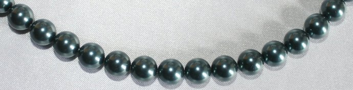 Swarovski Tahitian Look Crystal Pearl Statement Necklace, Mother of the Bride
