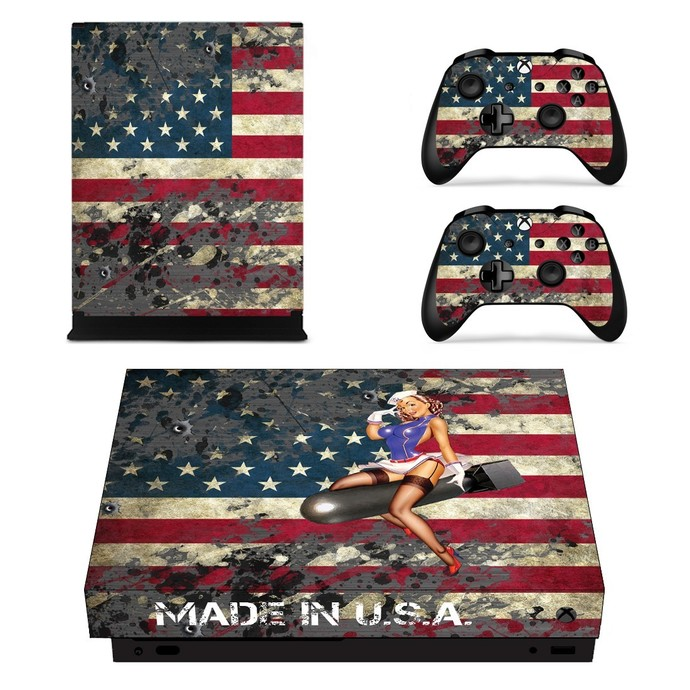 American Girl Xbox One X Skin By Video Games Design Decal On Zibbet