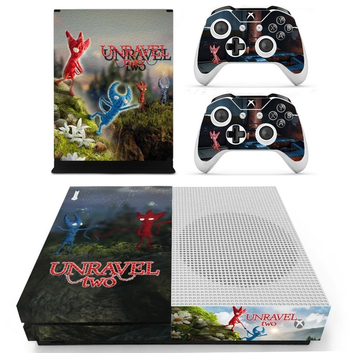 Unravel 2 Xbox one S skin