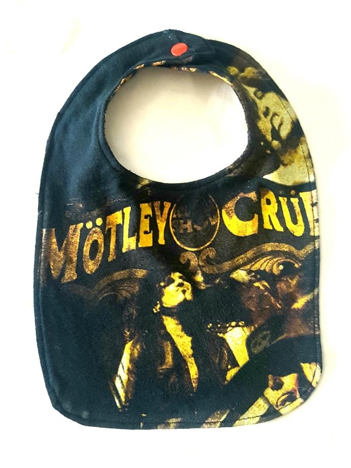 Motley Crue Baby Bib