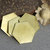 Bronze Hexagon  20g 20mm Blanks Cutout for Metalworking Stamping Texturing Blank