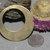 Bronze Hoops Blank 40mm  for Earrings or Pendant Offset Circle for Blanks