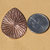 Teardrop Radiating Sun Pattern Metalworking Stamping Texturing Soldering Blanks