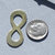 Brass Blank Infinity Symbol Cutout Shape for Metalworking Blanks Shape Form - 4