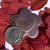 Super Flower with Heart on Embossed Blanks Cutout for Enameling Stamping