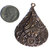 44mm x 31mm Teardrop Paisley Texture with Embossed Textured Blank Earring Shape