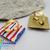 Handmade Square Dance Tie Slide for Fabric ties