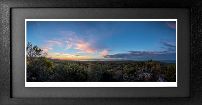 Shoalhaven Sunset Panorama