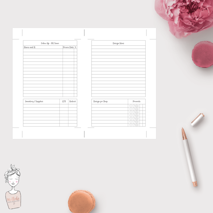 Personal Wide Rings - Boss Babe Shop Management System