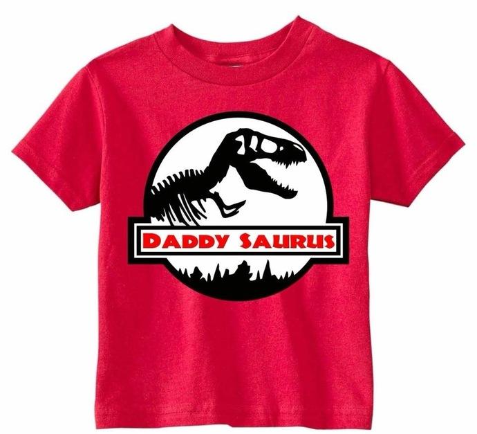 Daddy Saurus Shirt