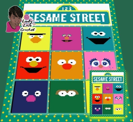 Sesame Street Beginners CAL 60x60