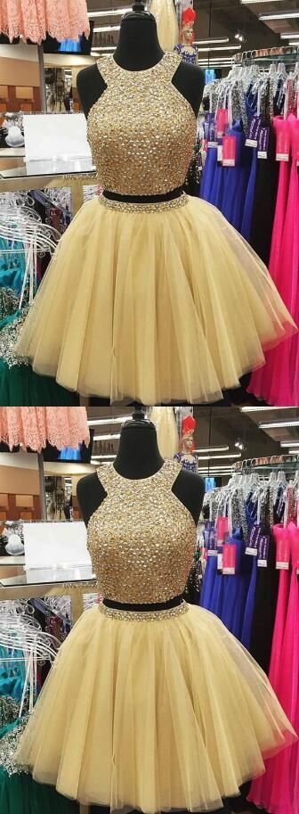 Beading Homecoming Dresses,Tulle Homecoming Dress,Short Prom Dress,Sexy Cocktail