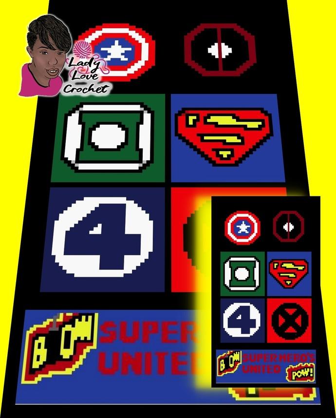 Super Hero CAL 30x30
