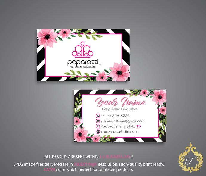 paparazzi business cards personalized by digitalart on zibbet