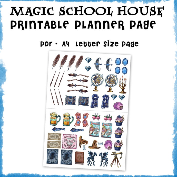 Ravenclaw clipart, Harry Potter clipart, Harry potter party, Hogwarts house,