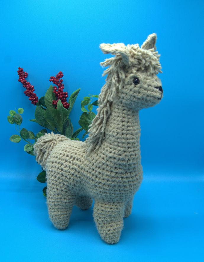 Amigurumi LLama/Crochet Stuffed LLama/LLama Toy
