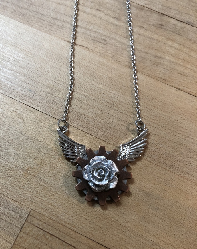 Floral Flight Necklace