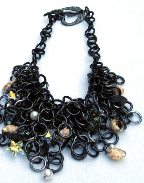 Poseidon's Treasure Chainmaille Necklace