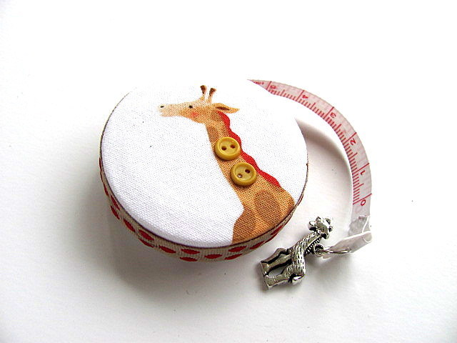 Measuring Tape with Giraffes Retractable Tape Measure