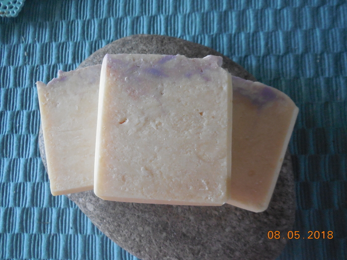 Honeysuckle Scented Goats Milk Soap 5 oz Bar