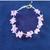 Infant pink bracelet