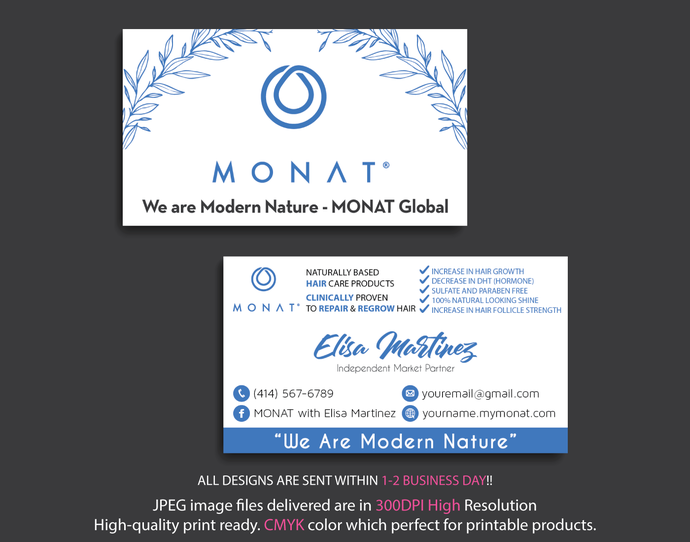 Monat business cards personalized monat by digitalart on zibbet monat business cards personalized monat business cards monat global digital colourmoves