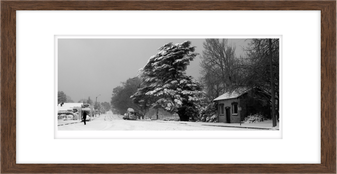 Blackheath Snowed In, Blue Mountains, NSW.