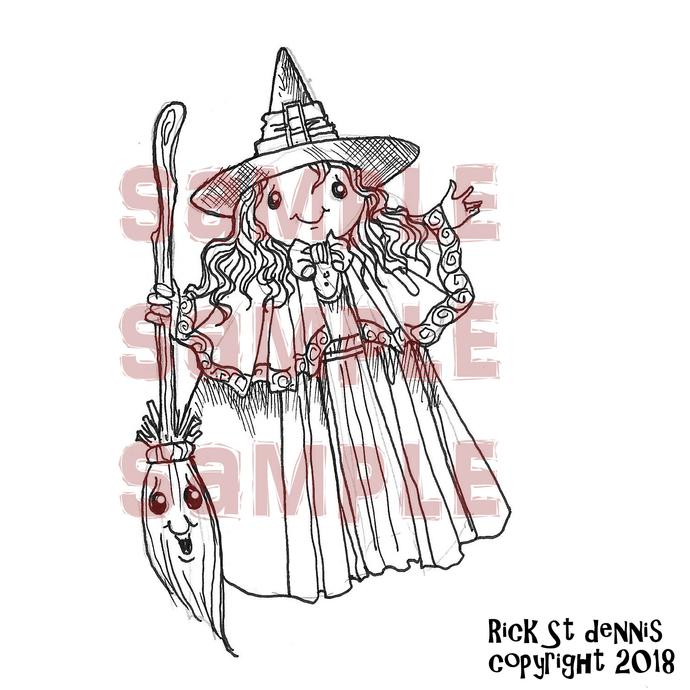 Halloween kAWAII kUTIES WITCHII A