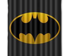 Batman Shower Curtain 72w X 72h